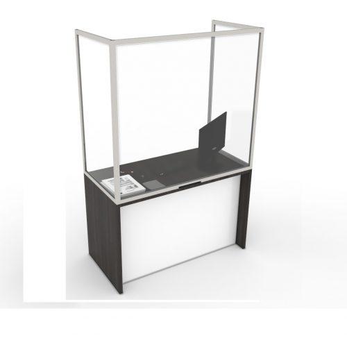 Straight desk cover