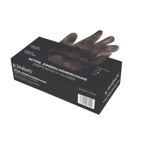Powder-free nitrile gloves