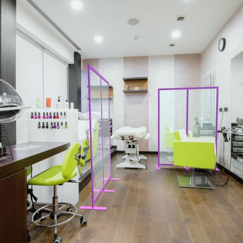 Safe hairdressing and beauty salons