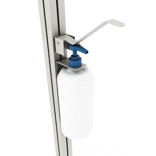 Wall-mounted elbow dispenser B