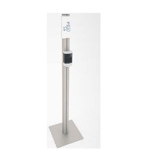 Simple stand with automatic dispenser
