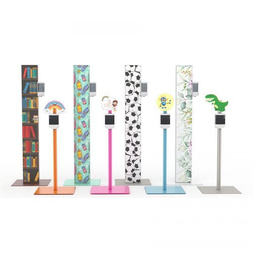 Customed disinfection stands