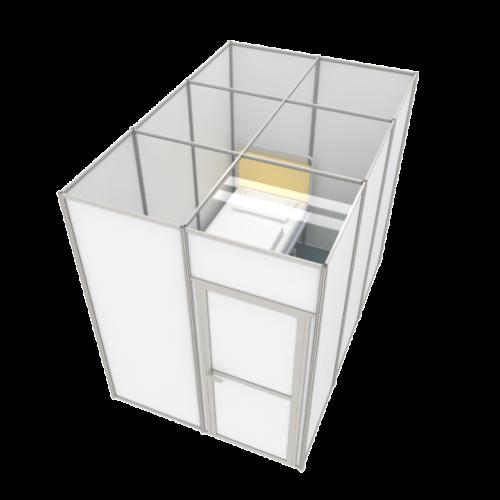 2x3m isolation room