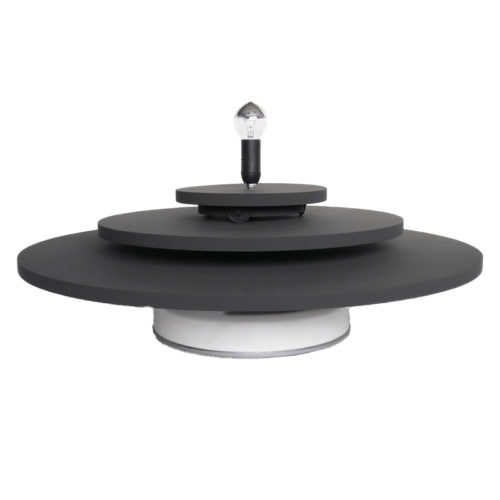 Turntable with 3Counter Revolving Platforms